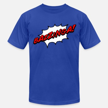 Comic Books Bazzinga! - Men's  Jersey T-Shirt