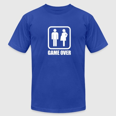Game over - pregnant - Men's Fine Jersey T-Shirt