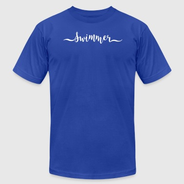 swimmer - Men's Fine Jersey T-Shirt