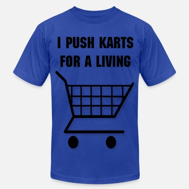 Shopping Cart Shopping Cart - Men's Jersey T-Shirt