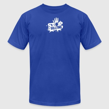 Stop Bullying - Men's T-Shirt by American Apparel