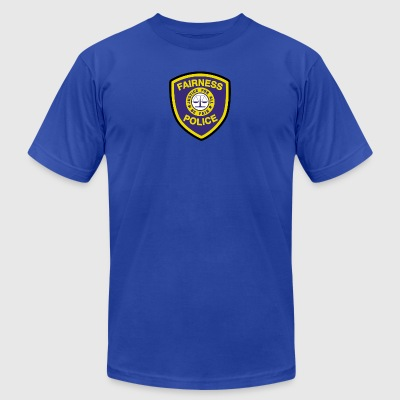Fairness Police - Men's T-Shirt by American Apparel