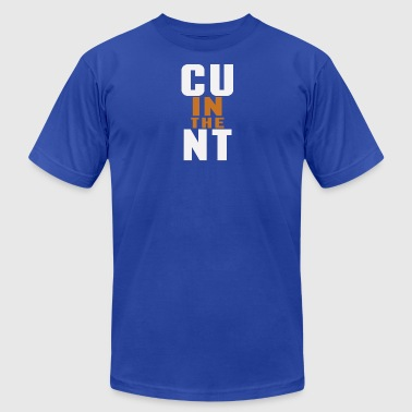CU in the NT - Men's Fine Jersey T-Shirt