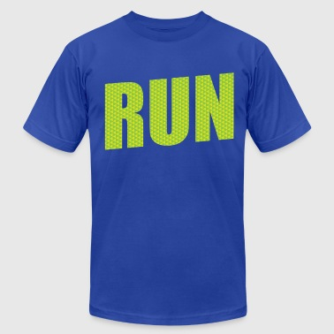 Run Marathon - Men's Fine Jersey T-Shirt