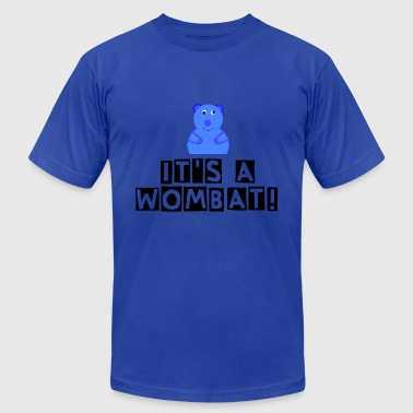 cartoon wombat.png - Men's Fine Jersey T-Shirt