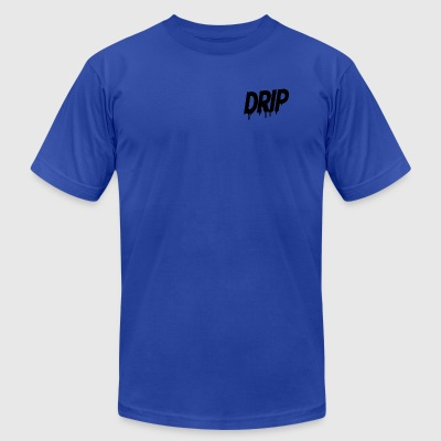 dripping - Men's T-Shirt by American Apparel