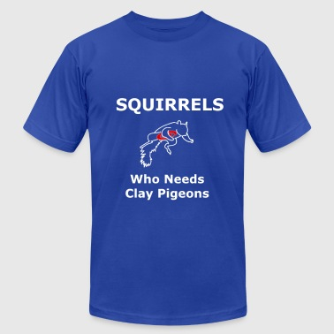 Squirrel Pigeon - Men's Fine Jersey T-Shirt