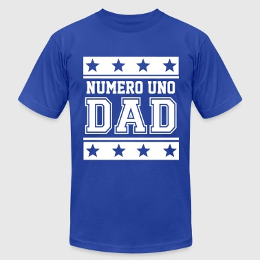 Numero Uno Dad - Men's Fine Jersey T-Shirt