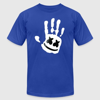 marshmello - Men's T-Shirt by American Apparel