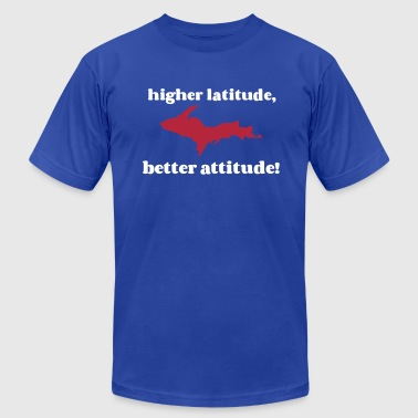 Higher latitude, better attitude! - Men's Fine Jersey T-Shirt