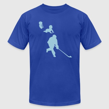 human evolution street hockey 10 - Men's Fine Jersey T-Shirt