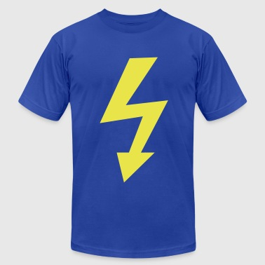 high voltage - Men's Fine Jersey T-Shirt