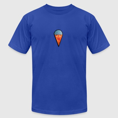 Ice Cream Moji - Men's T-Shirt by American Apparel