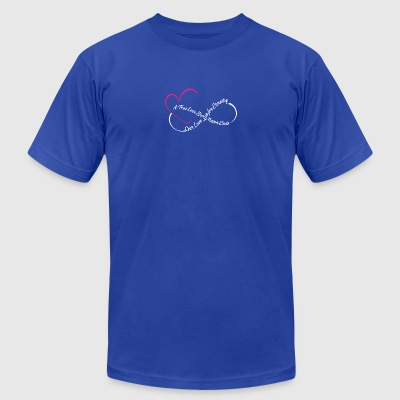 Love For Eternity Tee Shirt - Men's T-Shirt by American Apparel