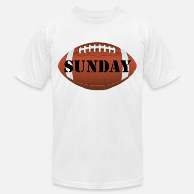Sunday Night Football Passion Football Superbowl sunday beer - Men's  Jersey T-Shirt