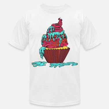 Cupcake Muffin Gift - Men's  Jersey T-Shirt