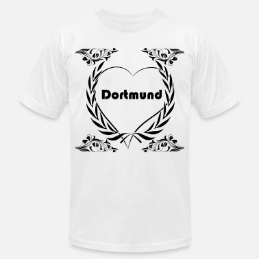 I Love City Clothing I love Dortmund, City - Men's  Jersey T-Shirt