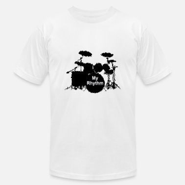 Floortom drums My Rhythm - Unisex Jersey T-Shirt