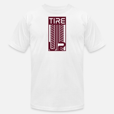 Tire Tracks Tire tracks - Men's  Jersey T-Shirt