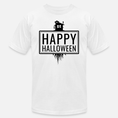 Awful House Happy Halloween Witches House Gift Idea - Men's  Jersey T-Shirt