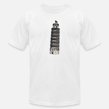 Inclined Tower leaning tower of pisa - Unisex Jersey T-Shirt