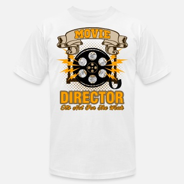 Anamorphic Director Producer Filmmaker Film Movie Cinema Gift - Men's  Jersey T-Shirt
