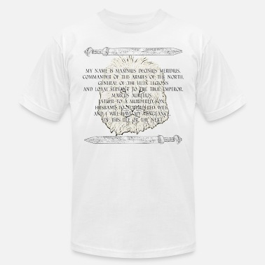 Russell Crowe Maximus white - Men's  Jersey T-Shirt