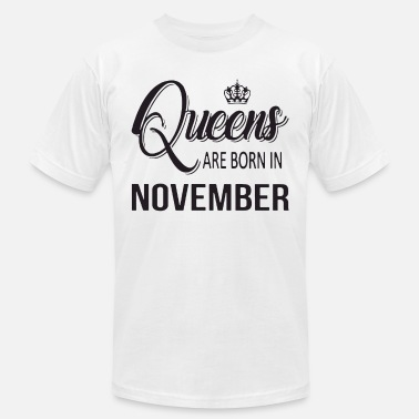 Queens are born in november t-shirts - Men's Jersey T-Shirt