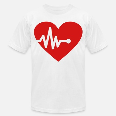 Heart Palpitations Palpitation - Men's Jersey T-Shirt