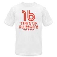 number 16 birthday t shirts