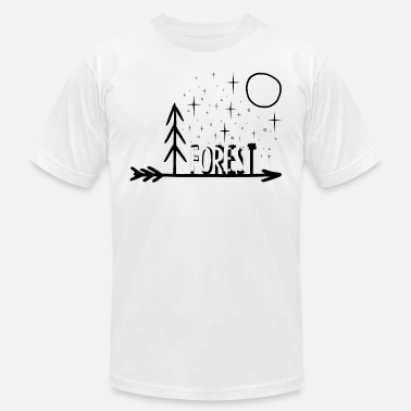 Forest Dweller Forest - Men's Jersey T-Shirt