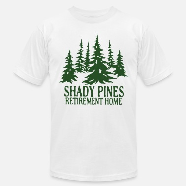 Retirement Retirement Home Shady pines retirement home - Men's  Jersey T-Shirt