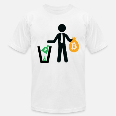 Currency Bitcoin Cash Digital Currency - Men's Jersey T-Shirt