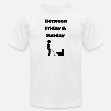 Sunday Quotes Between Friday and Sunday 9 - Men's  Jersey T-Shirt