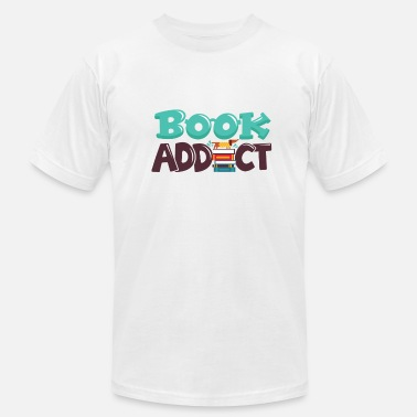 Book Addict BOOK ADDICT - Men's  Jersey T-Shirt