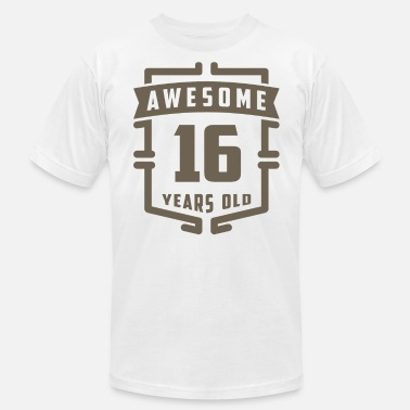 November 16 Awesome 16 Years Old - Men's Jersey T-Shirt