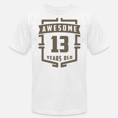 13 Years Awesome 13 Years Old - Men's  Jersey T-Shirt