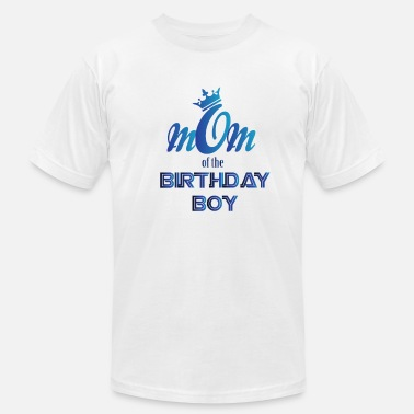 Mom Of The Birthday Boy Mom of the birthday boy - Men's Fine Jersey T-Shirt