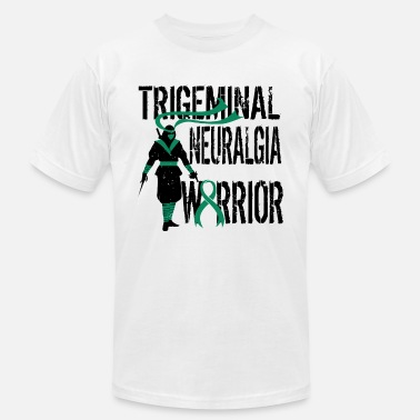 Trigeminal Neuralgia Trigeminal Neuralgia Warrior Chronic Pain Support - Unisex Jersey T-Shirt