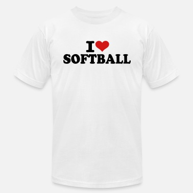 I Love Softball I love Softball - Unisex Jersey T-Shirt
