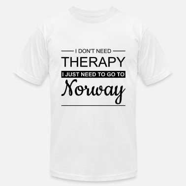 Norge Norway - I Don't Need Therapy Holiday Gift Idea - Men's Jersey T-Shirt