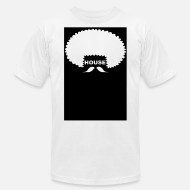 Soulful House Funky Hair Party Afro Soul House Groove EDM Soul - Men's  Jersey T-Shirt