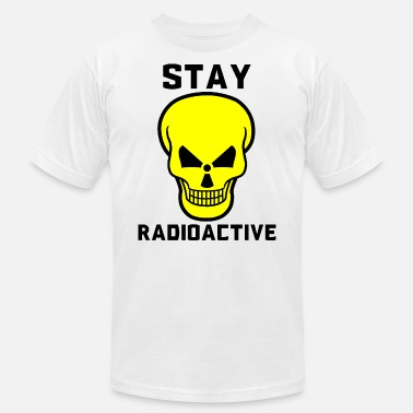 Chemistry Radioactive stay radioactive - Men's Jersey T-Shirt