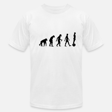 Overboard Is This Where Evolution Stops? Overboard. - Men's  Jersey T-Shirt