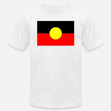 Aboriginal Flag ABORIGINAL FLAG - Men's  Jersey T-Shirt