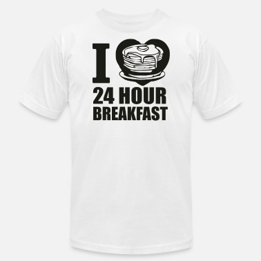 24hr breakfast t shirt sand - Men's Fine Jersey T-Shirt