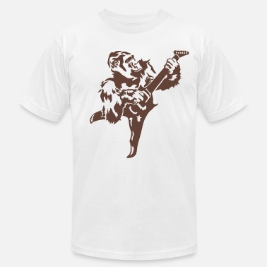 Rock Gorilla with electric guitar - Unisex Jersey T-Shirt