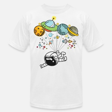 Graphic Space Travel Graphic Hot Tee For Kids, Men & Women - Men's Jersey T-Shirt