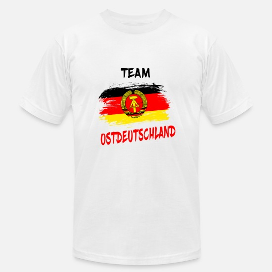 Patriot T-Shirts - Team Ostdeutschland / East Germany Gift Germany - Men's Jersey T-Shirt white