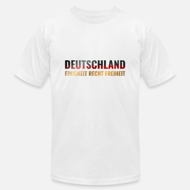 Federal Germany Flag Unity Right Liberty - Unisex Jersey T-Shirt